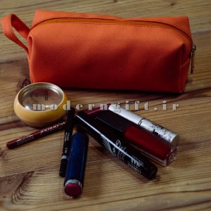 کیف آرایشی چرمی