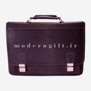 کیف اداری چرمی سیاه