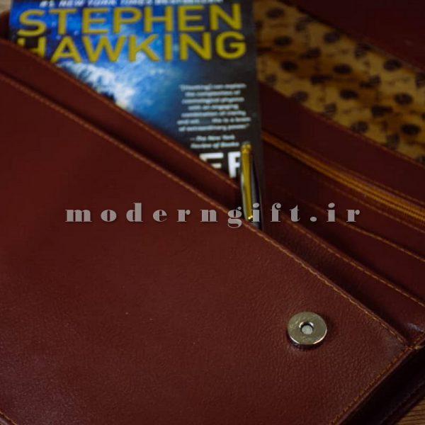 کیف سمیناری همایشی چرمی