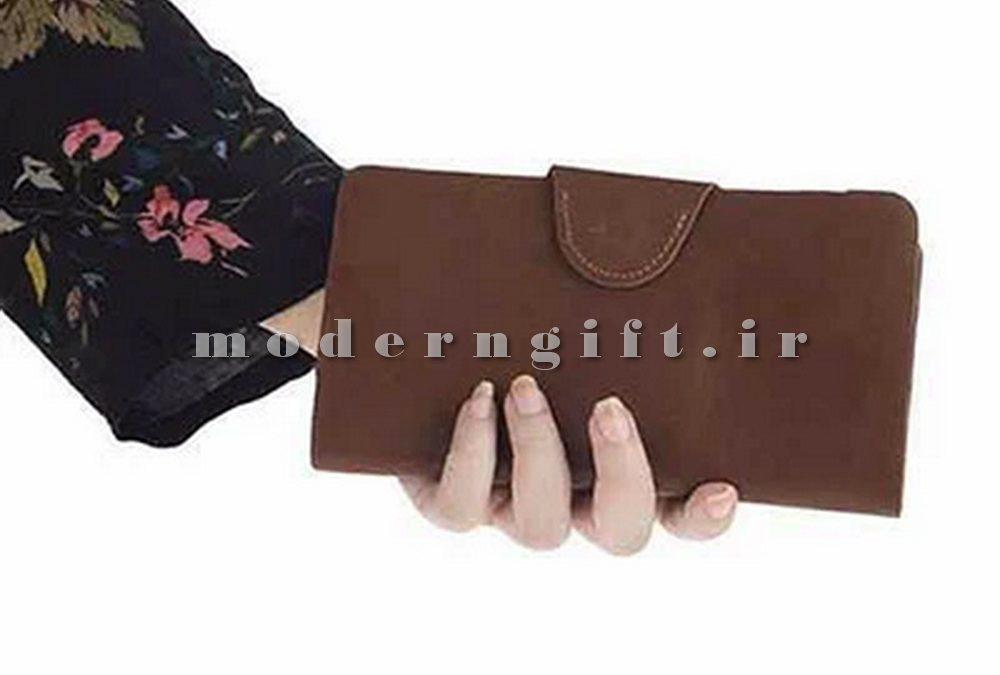 کیف پول زنانه چرم مصنوعی