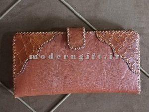 کیف پول زنانه چرم مصنوعی 2